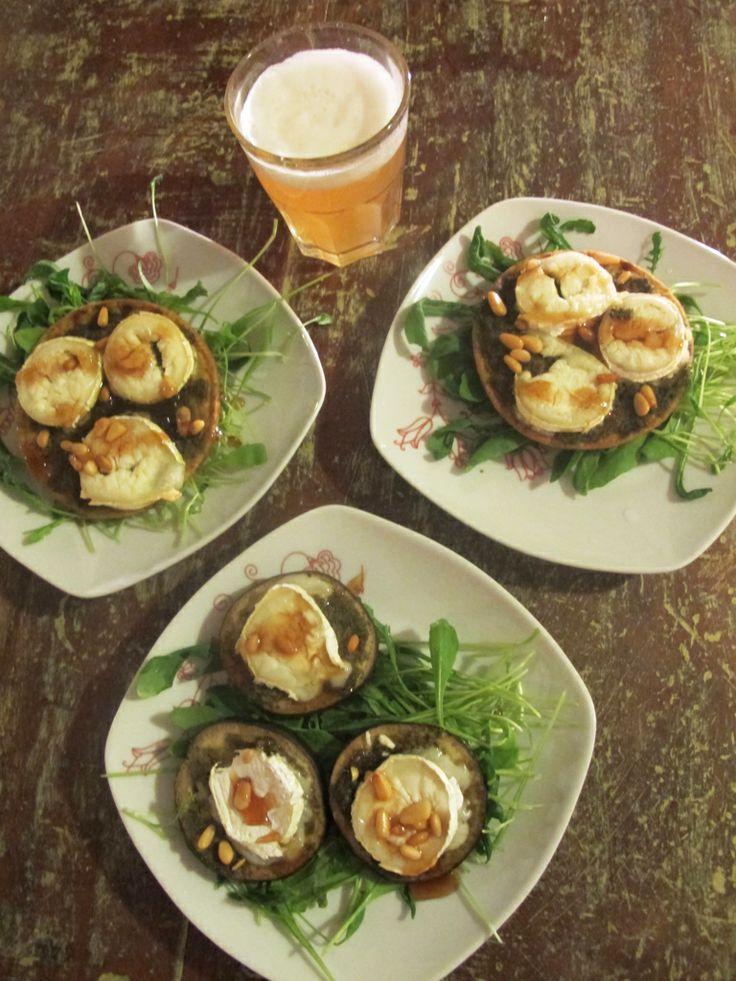 Goat cheese, honey and wheat beer | punavuorigourmet | Pinterest