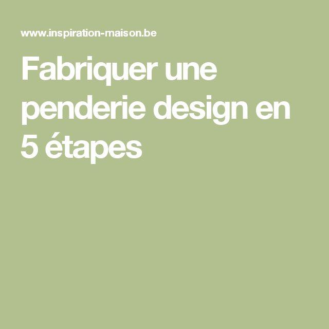 Fabriquer une penderie design en 5 étapes