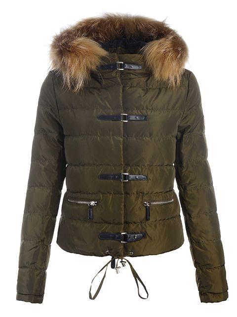 Doudoune Moncler- Vest Femme Classe Vert