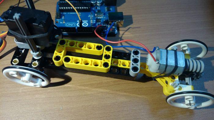 Arduino Motor Control RC Control - servo steering