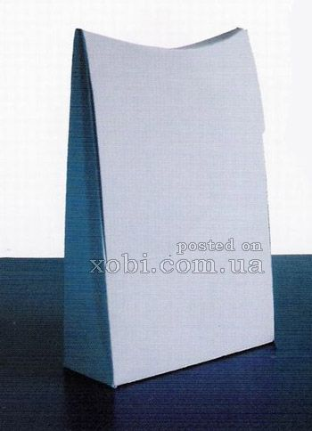 бумажная упаковка со схемой