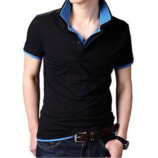 NimbleBuy: Men's Double Collar Premium Polo T Shirt(BEST BUY)...