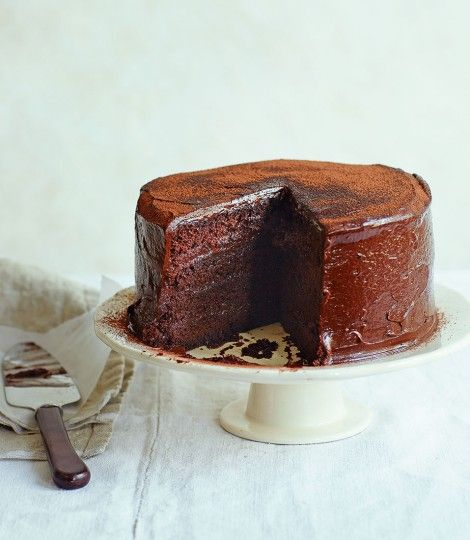 Chocolate cola cake - Great British Bake Off winner John Whaite - super moist and chocolate cola cake with a secret ingredient.