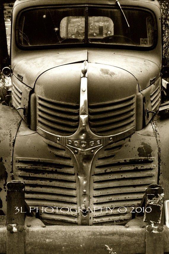 Fine Art Photograph Classic Vintage Dodge Truck Western Art on Etsy, $25.00