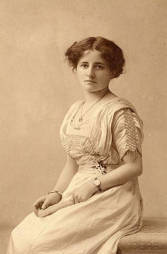 Portrait of an Edwardian girl by lovedaylemon, via Flickr