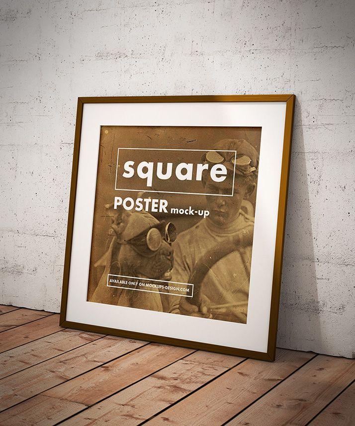 poster mockup design mockup