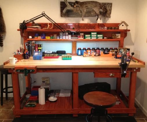 Reloading Bench By American Workbench Bonus Room Ideas