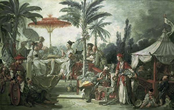 François Boucher - Chinese Emperors Feast