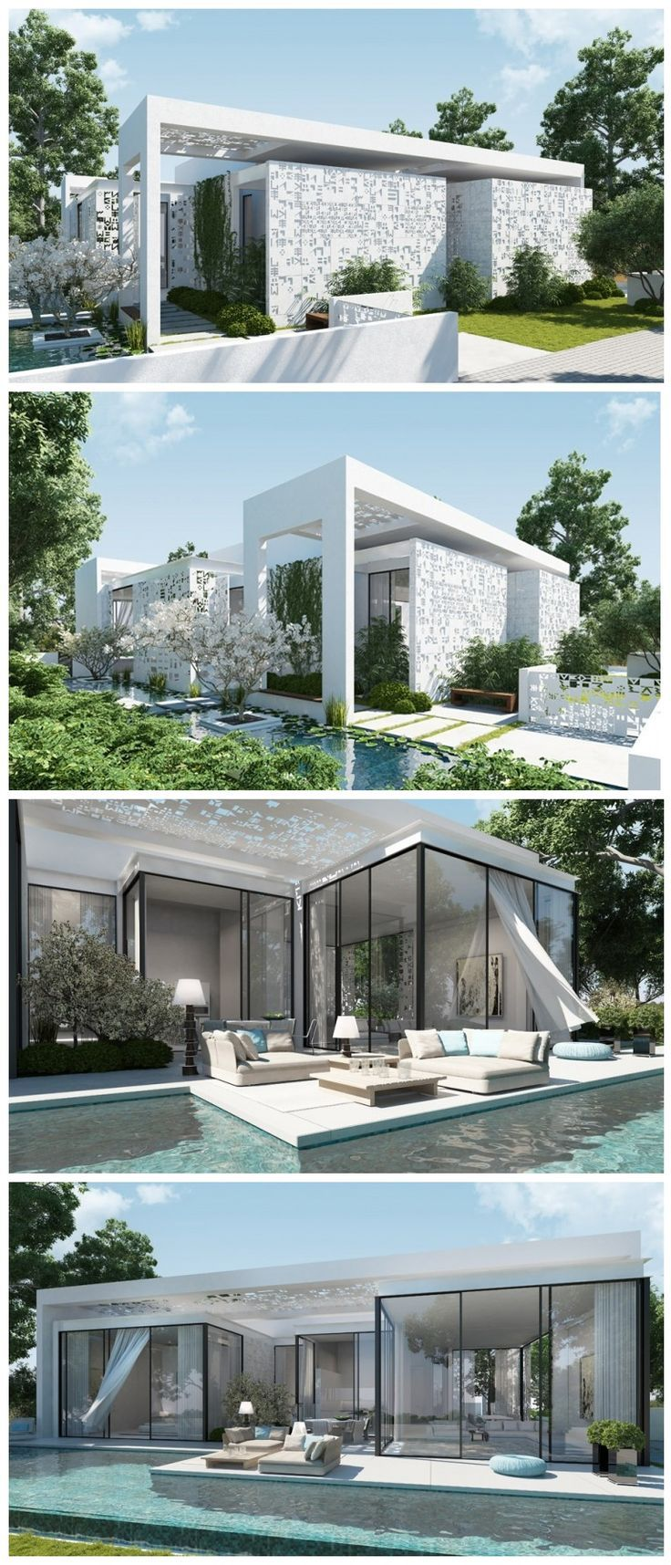 Beautiful Luxury House Design By Ando Studio House Design Pictures Modern House Exterior Luxury House Designs