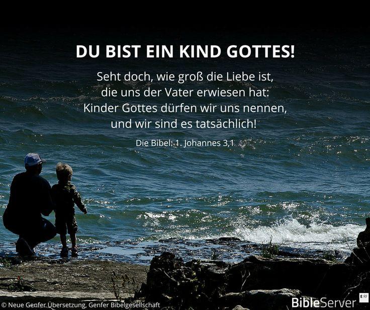 Bibelvers nachzulesen in der Bibel auf #BibleServer | 1. Johannes 3,1