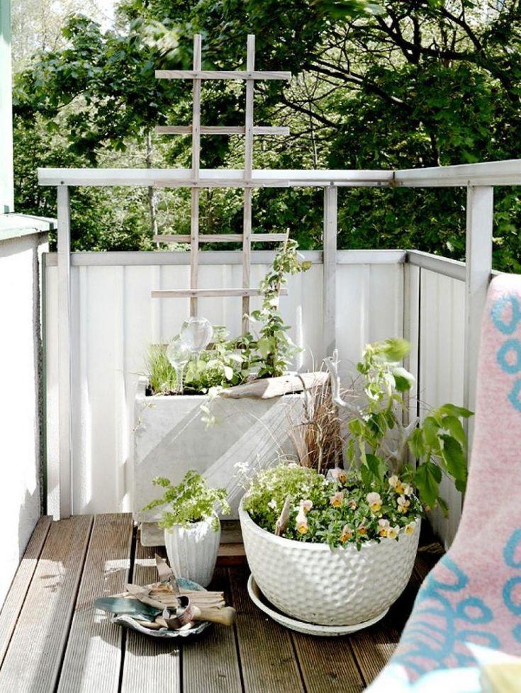 20 besten ideen zur wohlf hloase auf dem balkon bilder auf pinterest balkon g rtnern und verandas. Black Bedroom Furniture Sets. Home Design Ideas