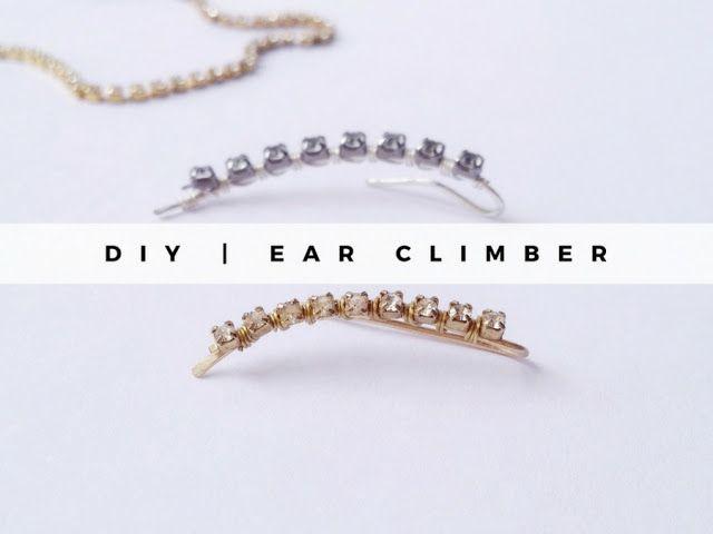 DIY Ear Climber - La creme