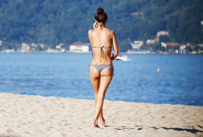 Modelmaße à la Alessandra Ambrosio gibt's nur durch ein hartes Training und die richtige Ernährung