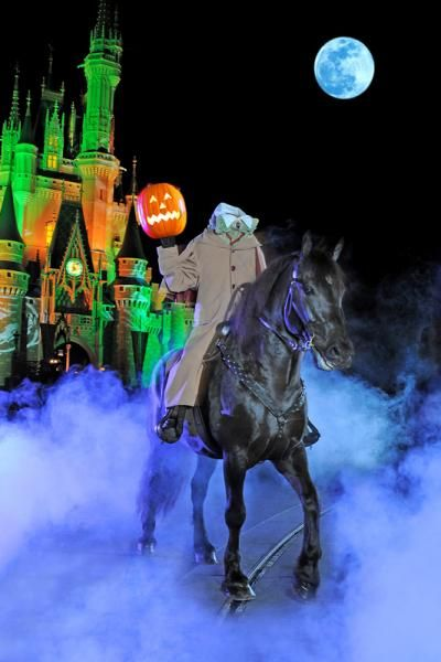 The Headless Horse Man from Mickey's Boo To You Parade at Mickey's Not So Scary Halloween Party