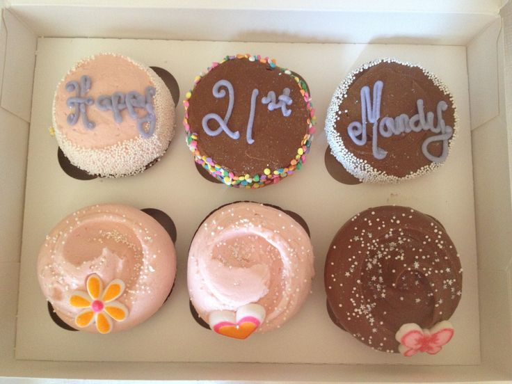 Magnolia Bakery!  The BEST cupcakes in NYC!  You must try them!  These were from the fabulous bakers at the Rockefeller Center bakery located at  1240 Avenue of the Americas at 49th Street New York, NY Tel.: 212.767.1123 Store Hours: M-Th: 7am-10pm F: 7am-12am / Sat: 8am-12am / Sun: 8am-10pm