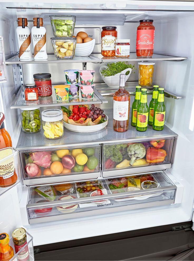 24++ Lg craft ice fridge counter depth info