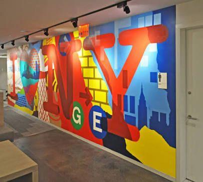 Картинки по запросу corporate external murals