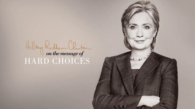 Hillary Clinton on making 'Hard Choices' by Simon and Schuster via slideshare
