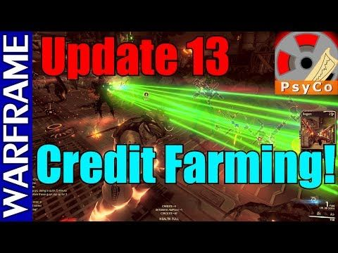Warframe Update 13 Credit Farming! [1080HD] - http://freetoplaymmorpgs.com/warframe/warframe-update-13-credit-farming-1080hd