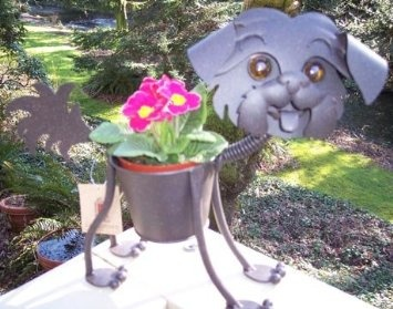 Amazon.com: Mini Shih Tzu Garden Planter: Patio, Lawn U0026 Garden