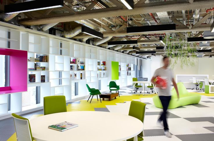 Дизайн интерьера студии дизайна HQ от Archer Architects