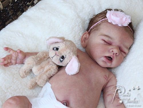 A-Romie-Baby-Full-Bodied-solid-SILICONE-doll-sculpted-reborn-by-Romie-Strydom