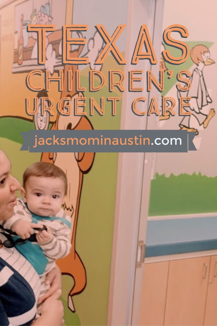 Texas Urgent Care: Jack's Mom in Austin - There has been so soooo much sickness as of late and as parents we often find ourselves wondering when and where to take our littles to the doctor because undoubtedly they will get sick on a Saturday afternoon. Texas Children's Urgent Care opened up this week in South Austin and it's unique in that it's just for kids! Check out the blog post for more details as well as when to tell if you need to take your little one to urgent care or the ER.