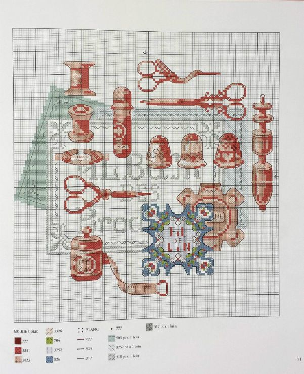 Gallery.ru / Фото #1 - Les plus belles collections au point de croix - Gala40