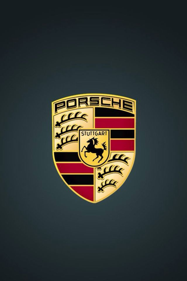 Car Logo Wallpaper For Iphone And Android Porsche Pinterest