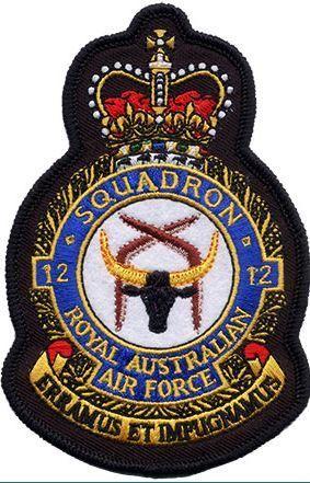Defence Gifts - 12 Sqn RAAF UNIFORM CREST  PATCH, $8.50 (http://www.defencegifts.com.au/12-sqn-raaf-uniform-crest-patch/)