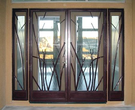 double doors | Double Storm Door