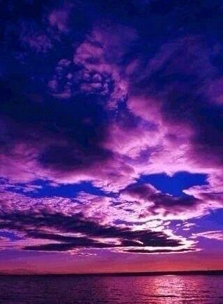 Imagine sky and sunset
