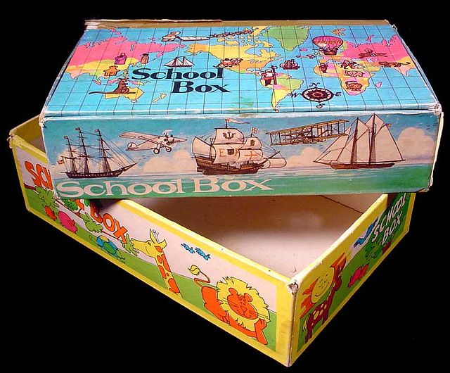 Pencil Box for Elementary School #80s #memories