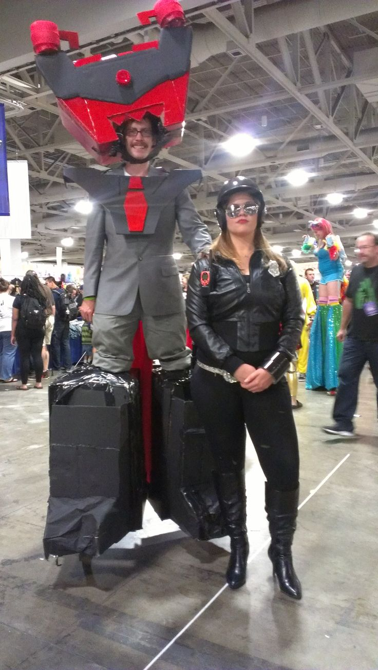 Lord Business & Bad Cop from Lego Movie Cosplay - Salt Lake Comic Con September 2014