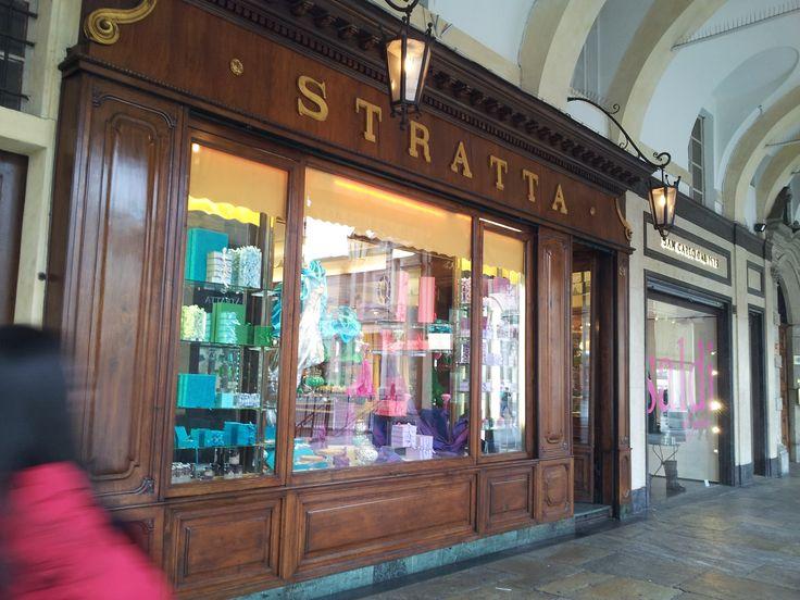 #Stratta in Piazza San Carlo
