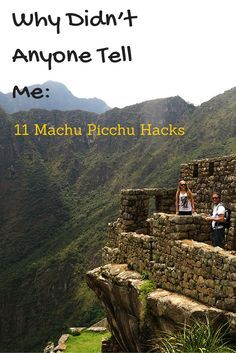 Travel tips l Why Didn't Anyone Tell Me: Cusco and Machu Picchu Tips - @tbproject