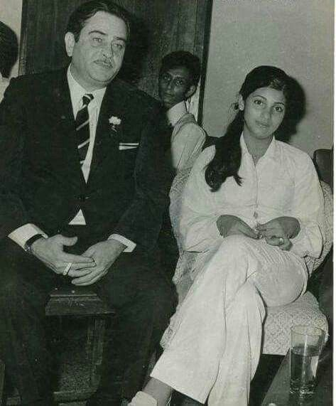 RAJ KAPOOR Would His Bobby Muse...DIMPLE KAPADIA KHANNA..Those Were The Days!!!""