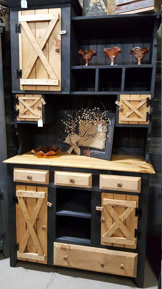 country farmhouse hutch , buffet , side board, step back . cabinet , cupboard cabinet , country side board , media console, kitchen island , storage cabinet. this cabinet can be use for many things. in your dining, bathroom, kitchen, etc beautifully distressed farmhouse cabinet 2 #countryfurniture