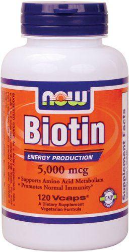 Biotin Vitamin To Promote Hair Growth