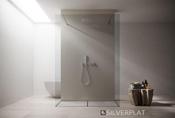 """Pin su Box doccia parete fissa """"WalkIn"""""""