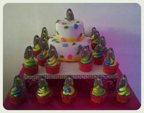 Virgencita cake & cupcakes