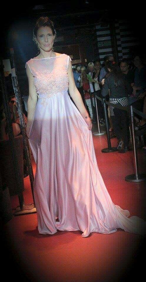 Celina Rucci desfile exclusivo