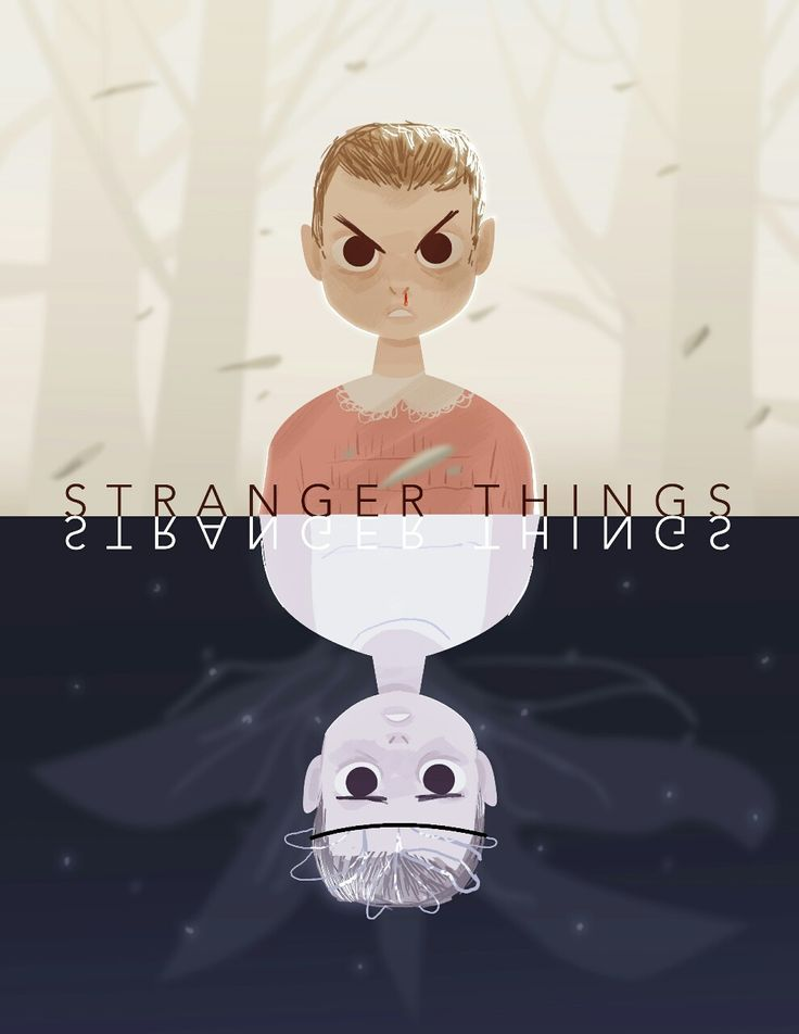 Eleven. / Stranger Things