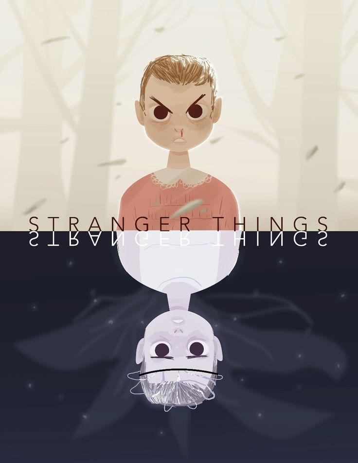 Eleven. / Stranger Things