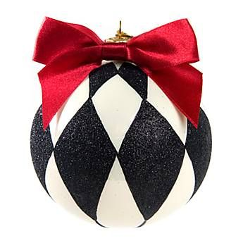 Christmas Tree Glass Ornaments