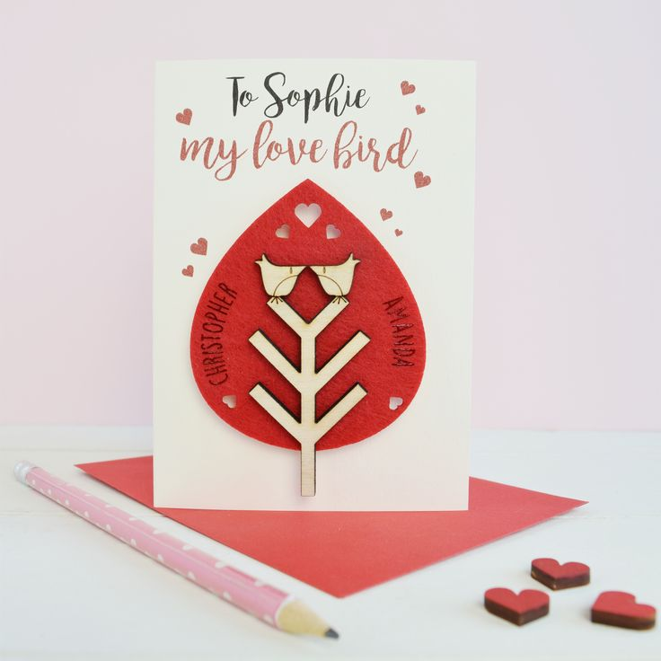 Valentine's card by Just toppers