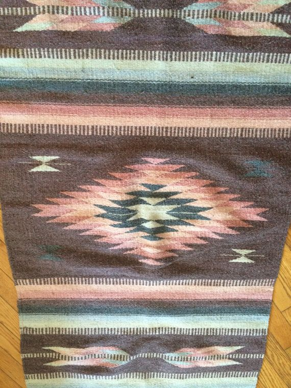 Vintage Satteldecke südwestliche Art Teppich von Moonlightingnow