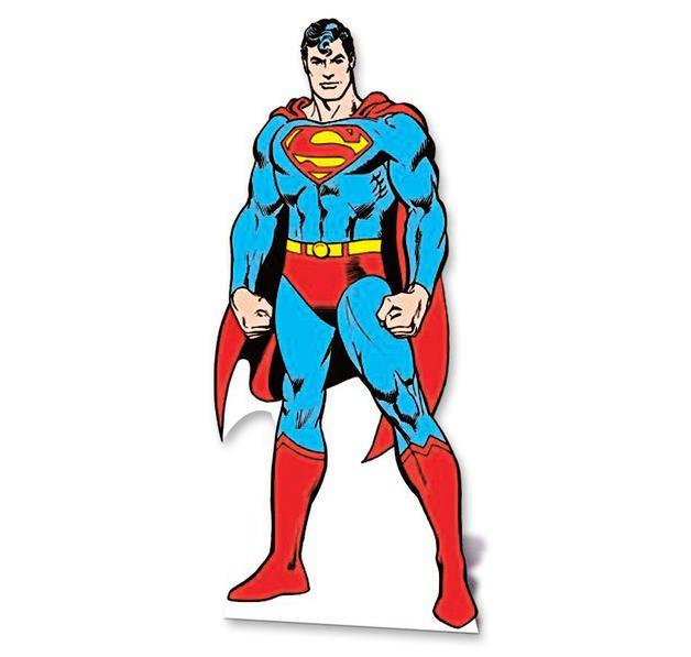 Superman Pappaufsteller
