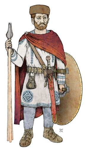 Pannonian late roman soldier