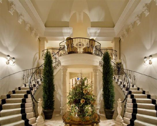 Grand Hall Inside A French Villa Dream Home Pinterest